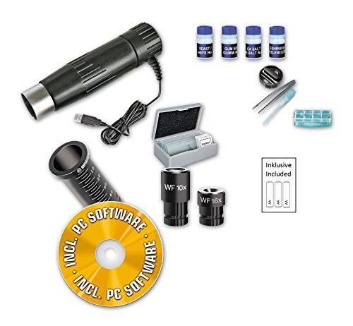 Bresser junior 8855001 Mikroskop-Set Biolux DE 40x-1024x USB - 3